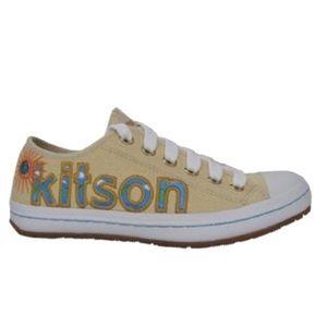 VHTF: new Kitson LA ☻ FAD Embroidered Sneakers ☻
